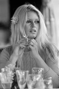 Co- Signed Brigitte Bardot, On the set of 'Shalako' , in Deauville, 1968