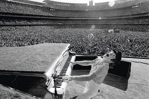 Elton John at the Dodgers Stadium