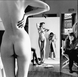 Self Portrait with Wife and Models