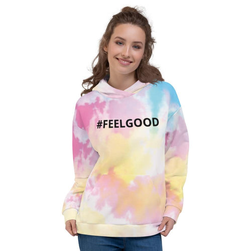 Sweat à Capuche Sky Tie and Dye Unisexe #FEELGOOD