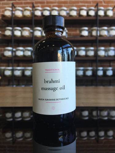 Brahmi Massage oil 4 oz