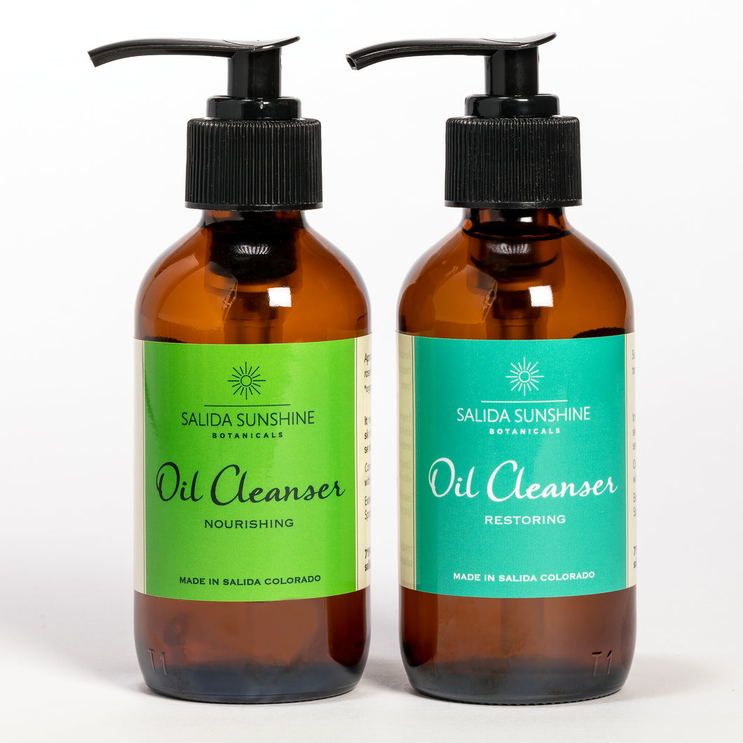 Oil Cleanser Nourishing/Oil Cleanser Restoring