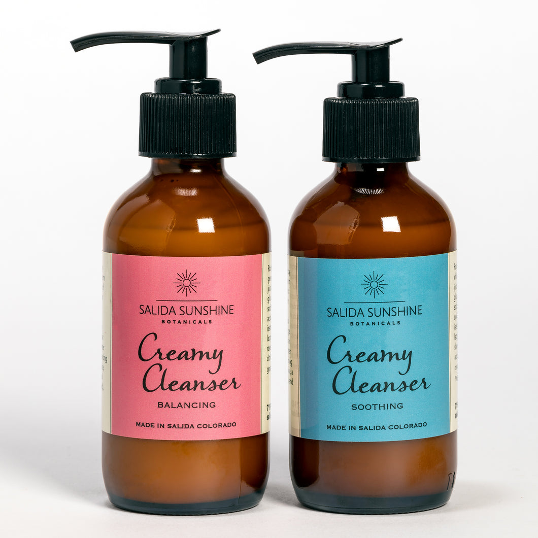 Creamy Cleanser Balancing/Creamy Cleanser Soothing
