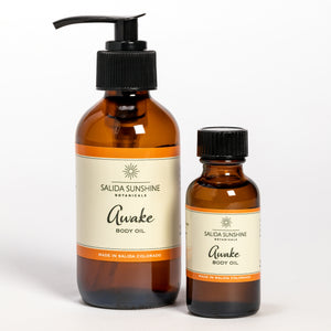 Awake Body Oil