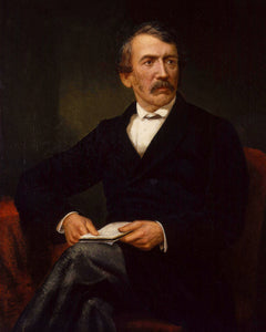 David Livingstone Portrait - Original Gusswerk