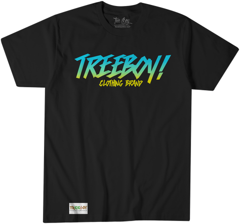 TWO-TONE TREEBOY LOGO ONN BLACK TEE