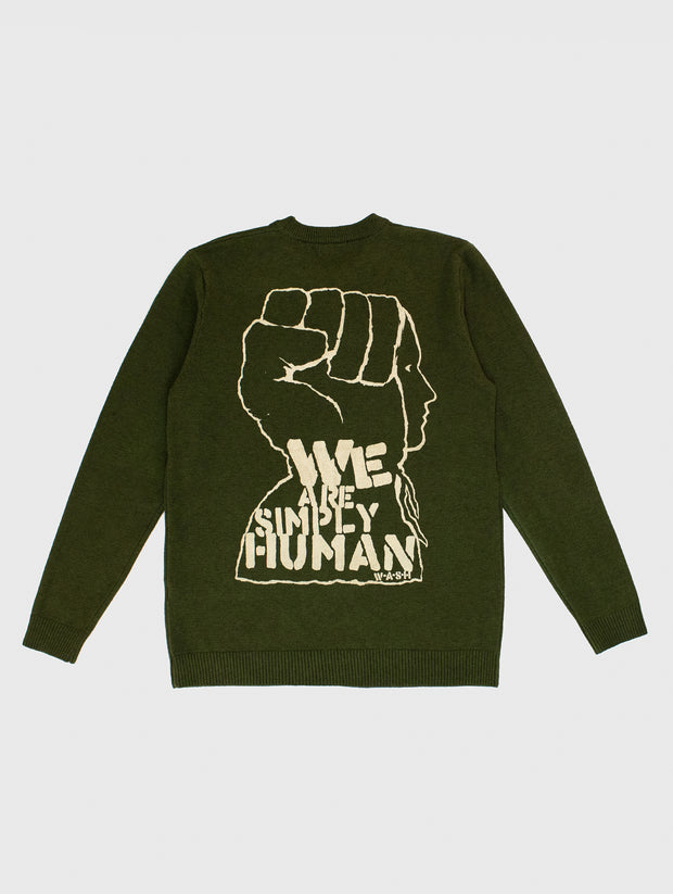 We Stand Fine Gage Sweater