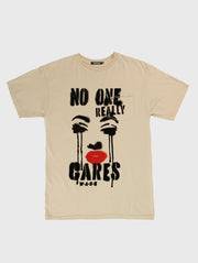 No One Really Cares Pocket Tee