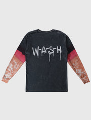 Wash Drip Tye Dye Long Sleeve