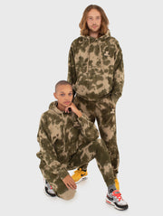 Water Camo Hooded Sweatershirt