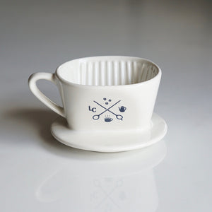 Melitta × LiLo CERAMIC Dripper SF-T 1×1 【Indigo】