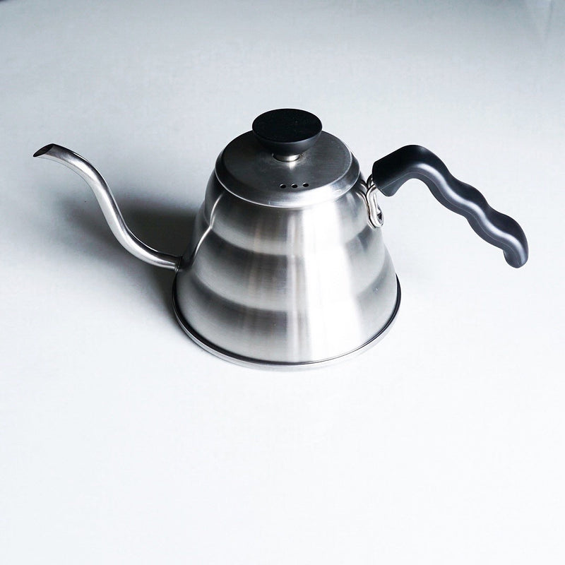 HARIO V60 BUONO KETTLE HAIRLINE SILVER 0.6L