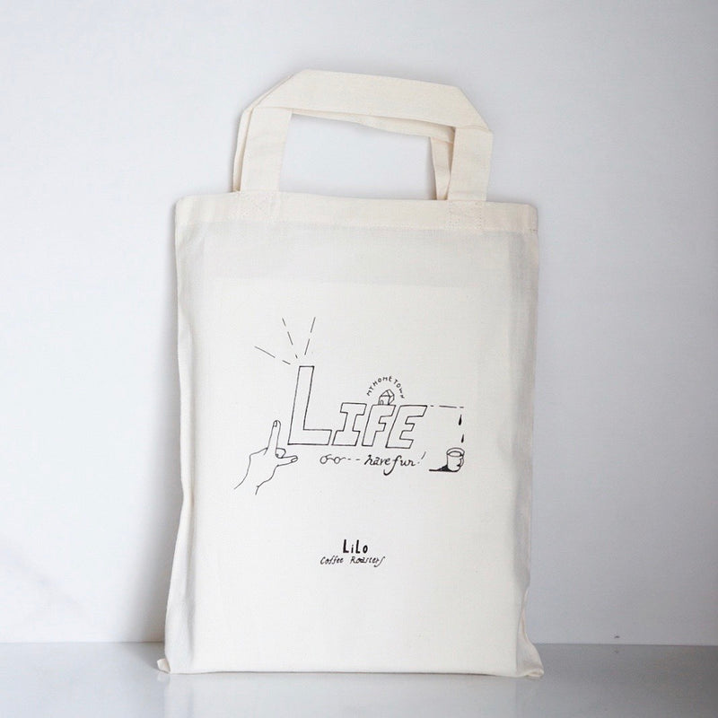 Cotton Reusable Bag A4 ③