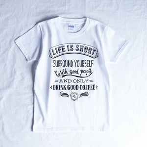 LCR Original T-shirt (人生瞬間)・WHITE
