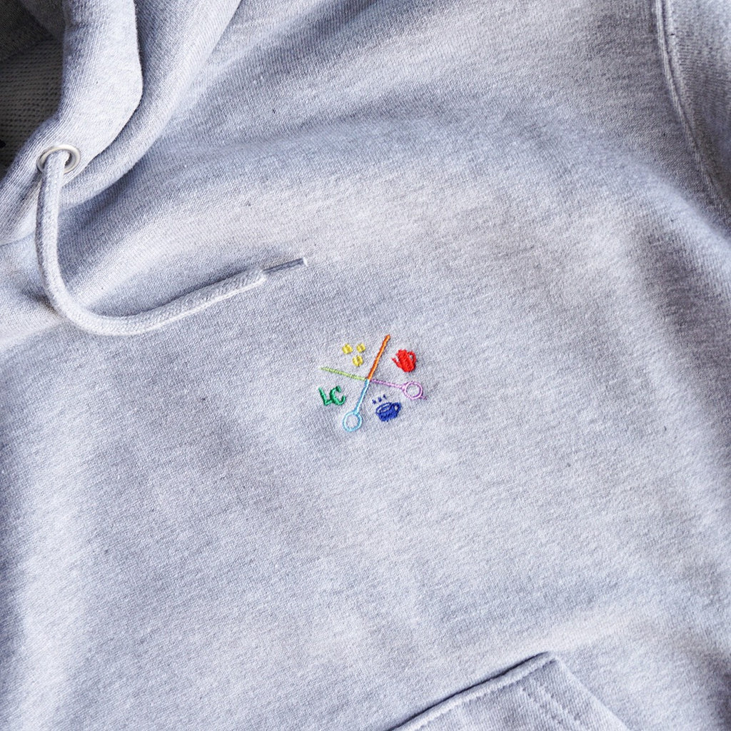 LCR Original Hoodie (LOGO embroidery・GRAY)