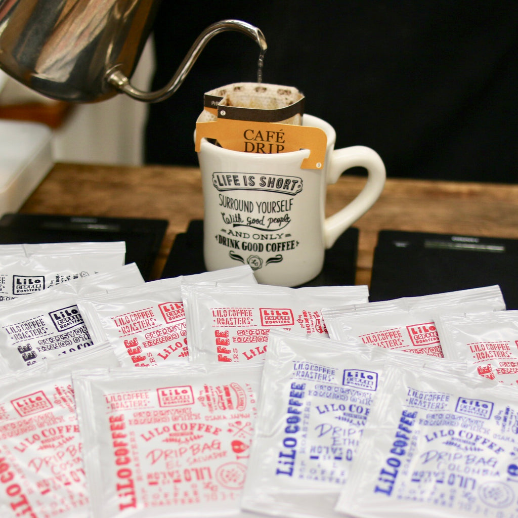 DRIP BAG COFFEE (10 Flavors)