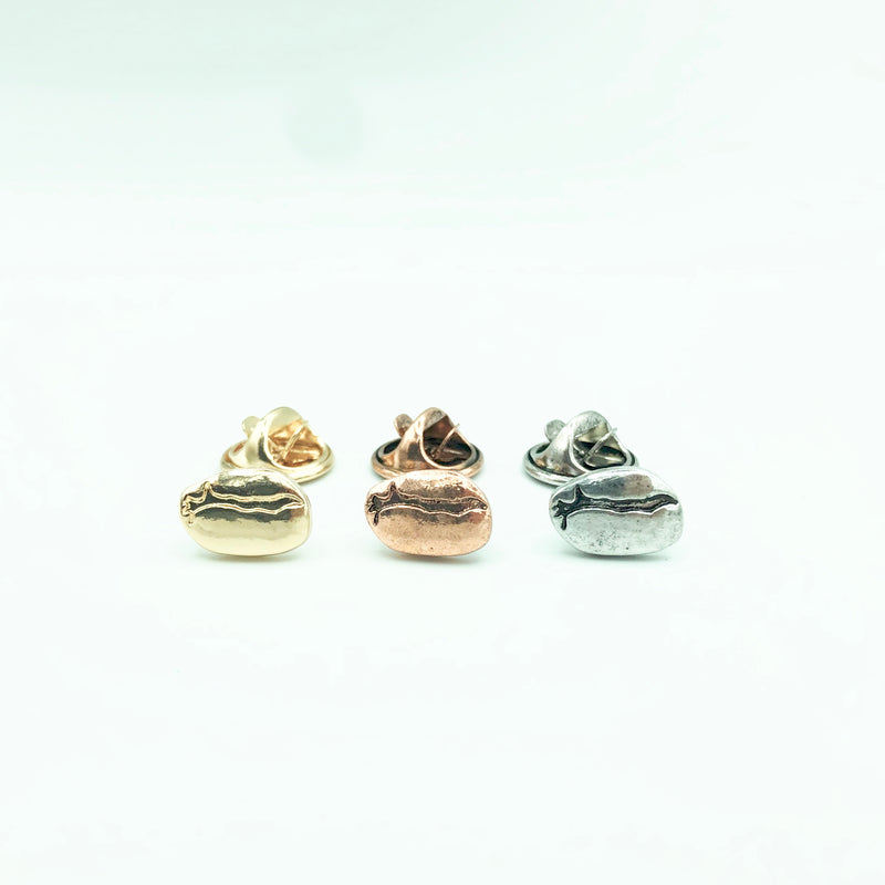 Pin Badge【BEANS gold/silver/copper】