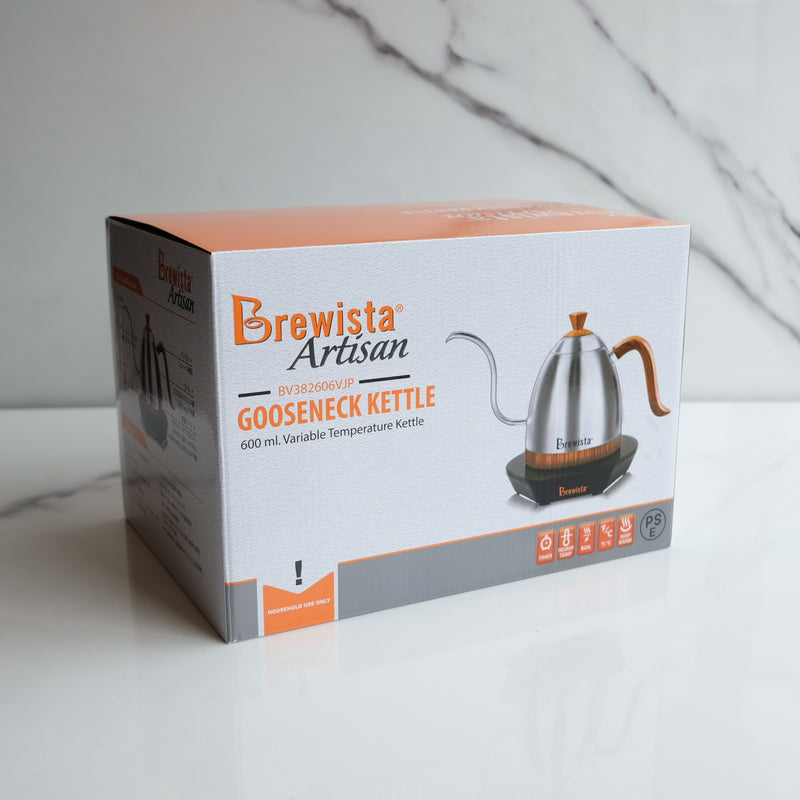 Brewista Artisan Gooseneck Variable Kettle 0.6L White