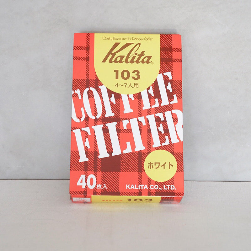 Kalita 103 Coffee Filter White (40P)