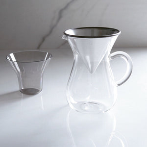 KINTO coffee carafe set 600ml stainless steel