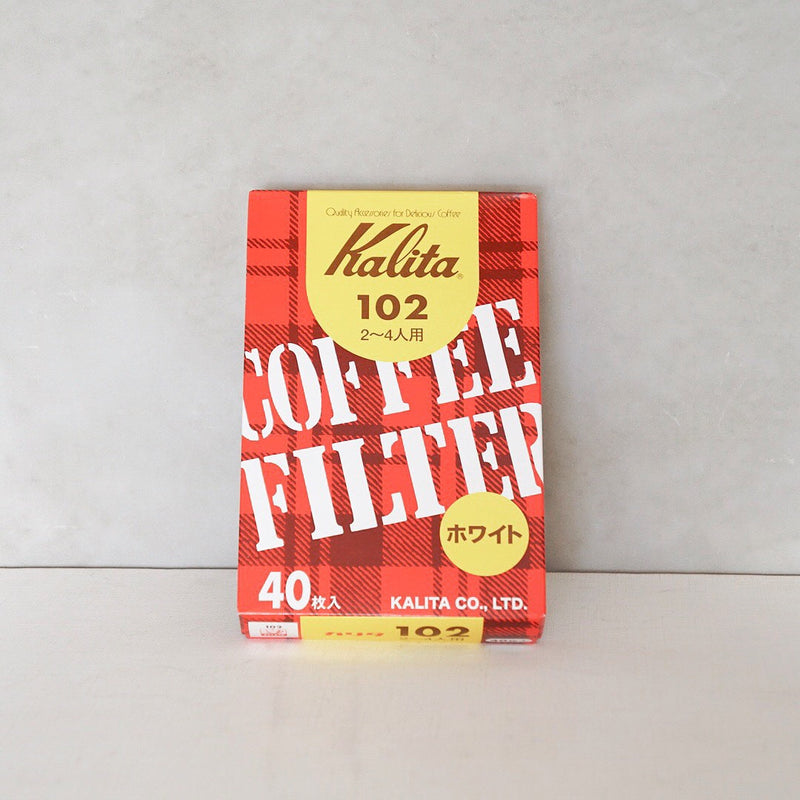 Kalita 102 Coffee Filter White (40P)