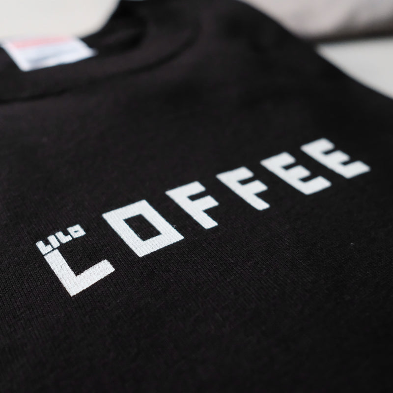 Long Sleeve T-shirt (COFFEE)・BLACK