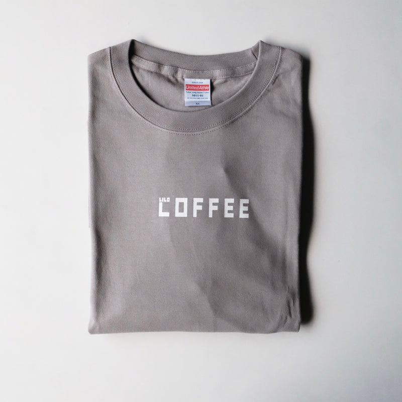 Long Sleeve T-shirt (COFFEE)・STONE