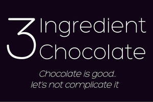 3 Ingredient Chocolate