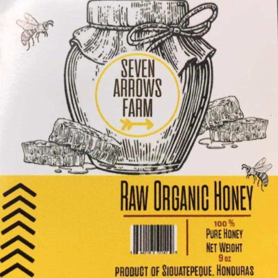 Organic Honey from Honduras