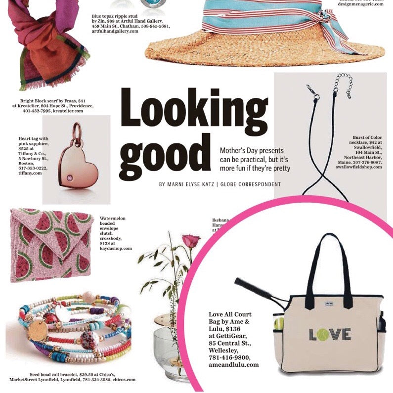 As Seen in The Boston Globe: Ame & Lulu