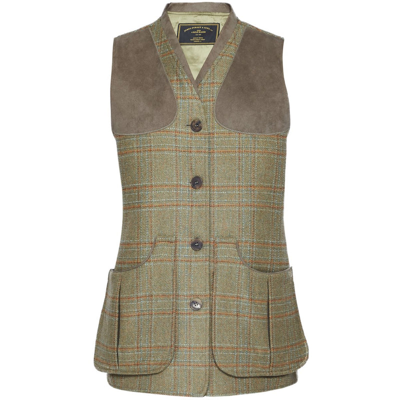 Tweed Shooting Vest