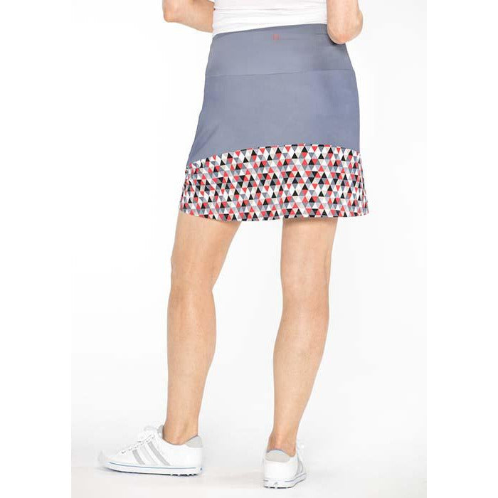 Spring Forward Golf Skirt (Grey)