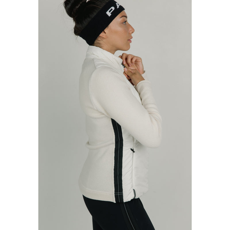 Bora Cashmere Thermal Jacket (White)