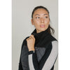 Banff Cashmere Thermal Vest (Black/Grey)