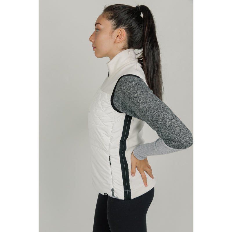 Banff Cashmere Thermal Vest (White)