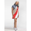 Bold Moves Shortsleeve Golf Dress (Grey)