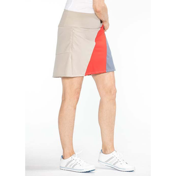 Bold Moves Golf Skort (Sand)