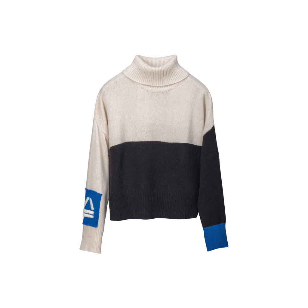 Horizon Blue Cropped Sweater