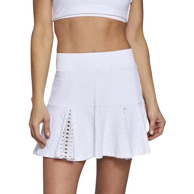 Hidden Pleat Flower Skort