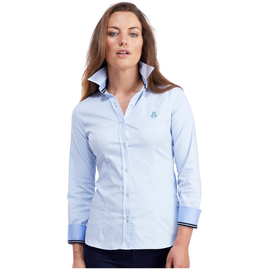 Classic Oxford Stretch (Blue Oxford)