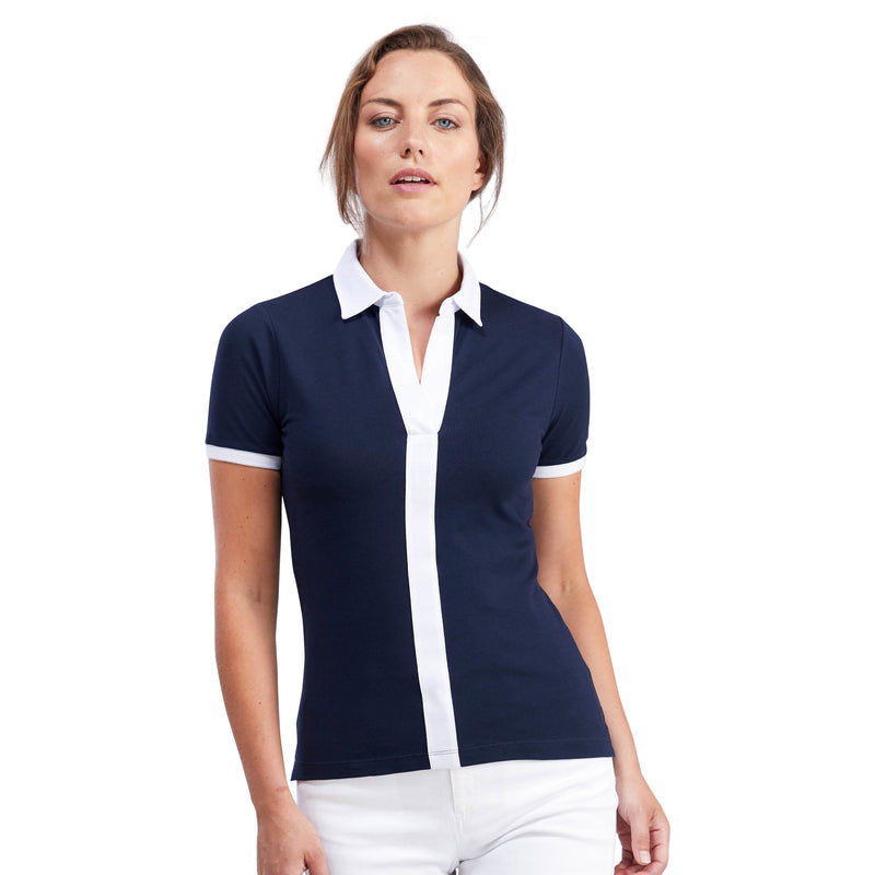 Centre Stripe Polo