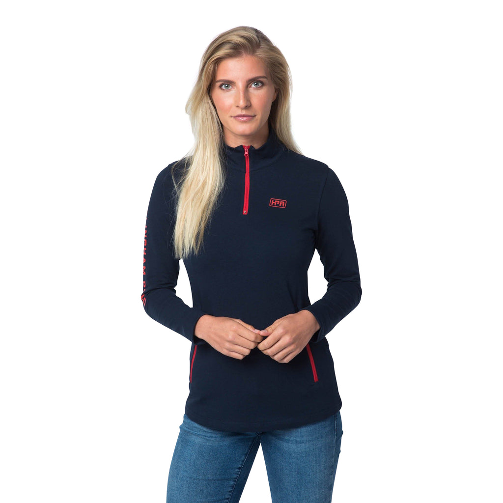 Quarter Zip Mid Layer (Navy)
