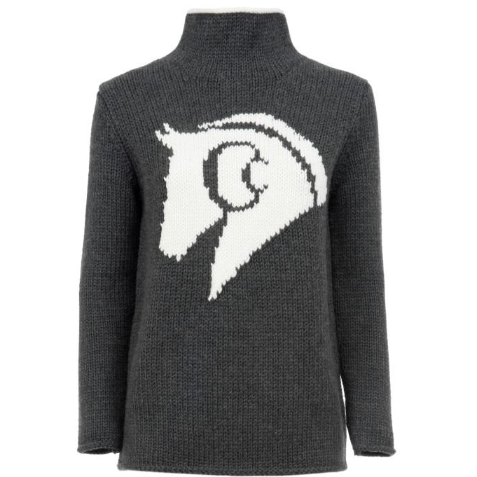 Sassy Merino Wool Sweater (Grey)