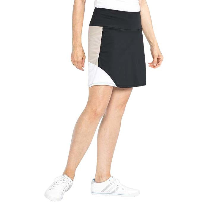 Spring Forward Golf Skirt (Black)