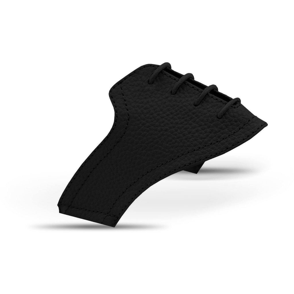 Interchangeable Golf Shoe Saddle (Black w Black Laces)