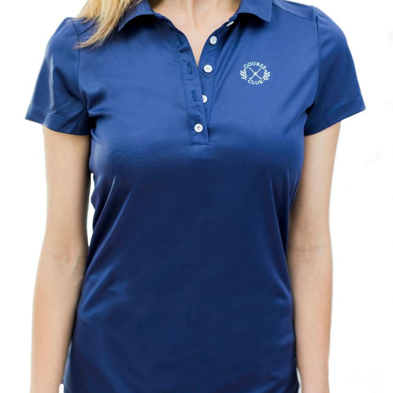 Short Sleeve Polo (Navy)