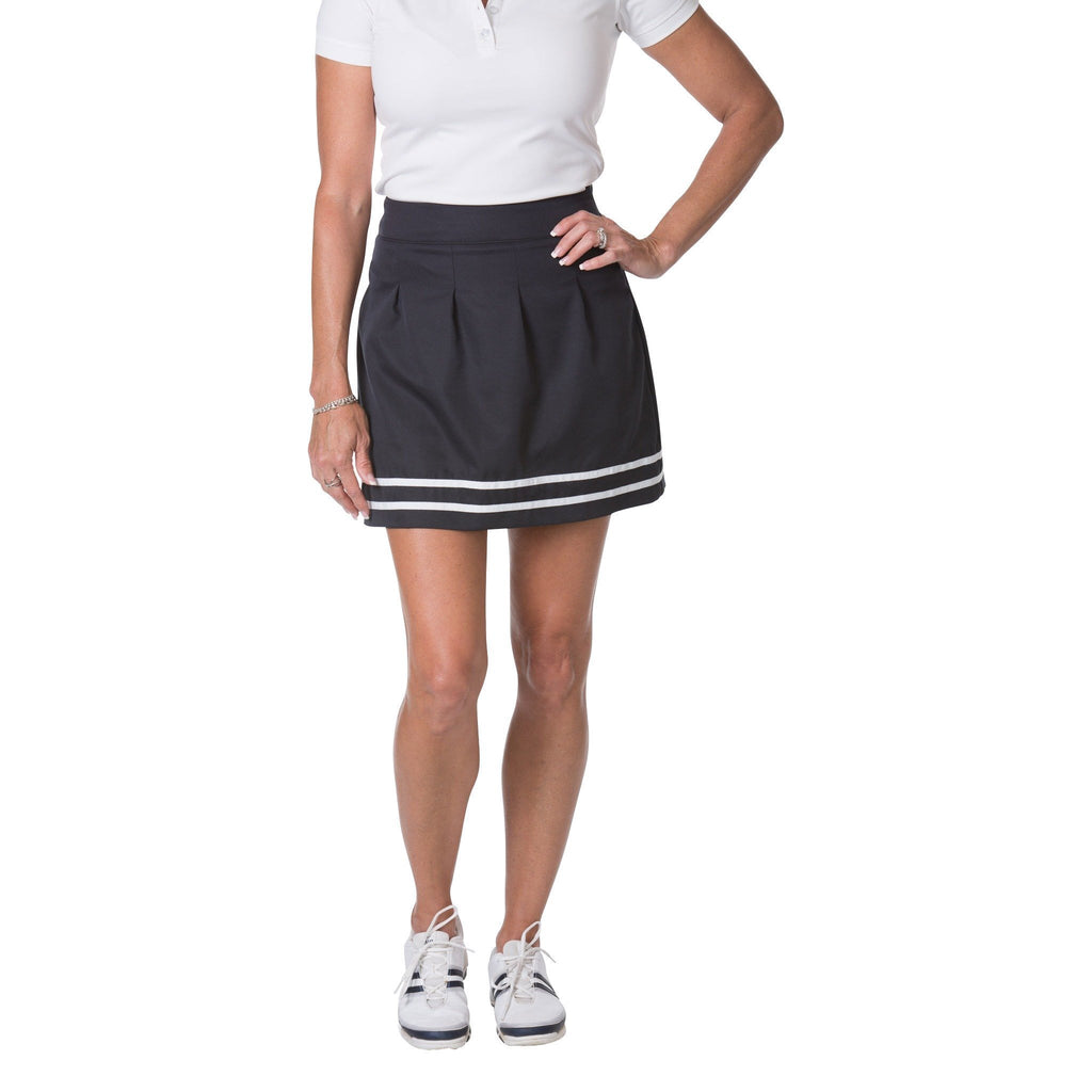 Classic Pleated Skort (Navy)