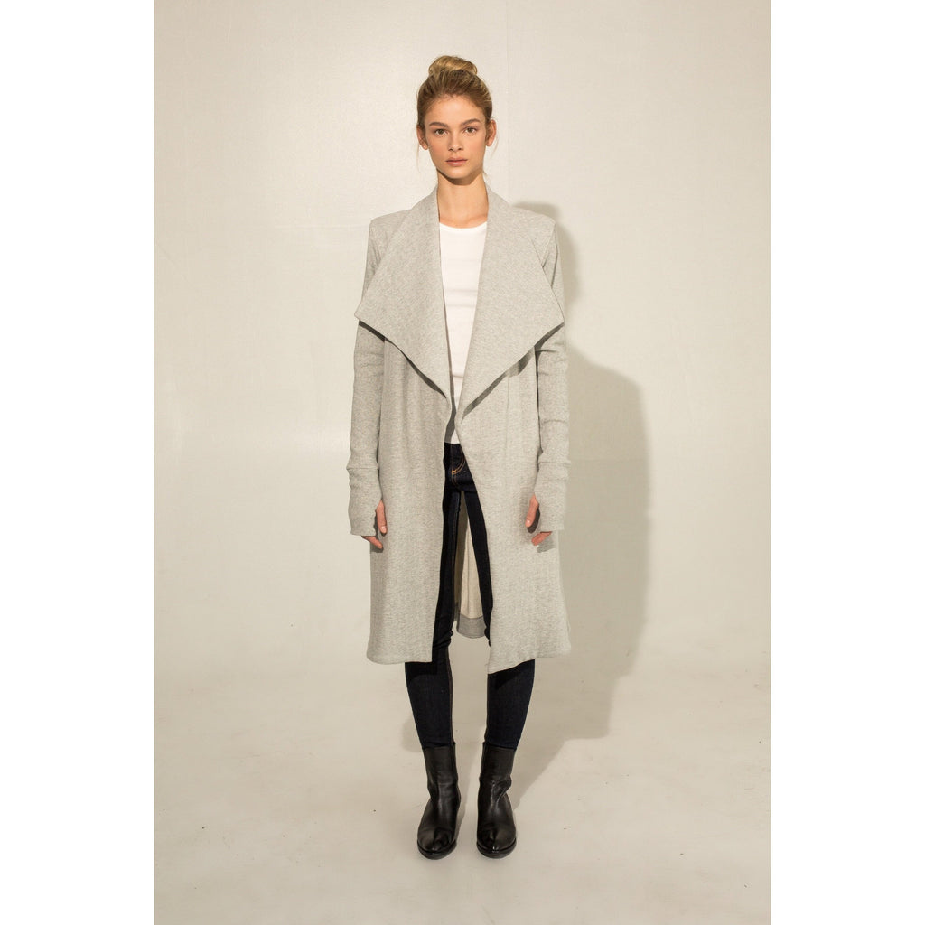 The Wrap Coat (Grey)