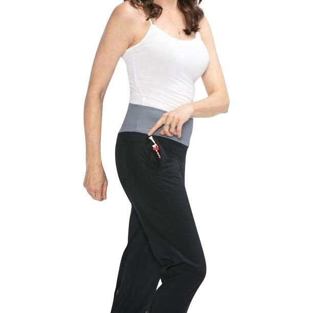 Smooth Your Waist Long Pant (Black)