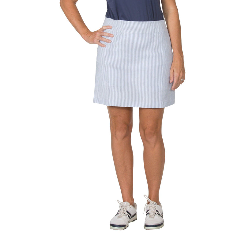 Prime Pencil Skort (Blue Seersucker)